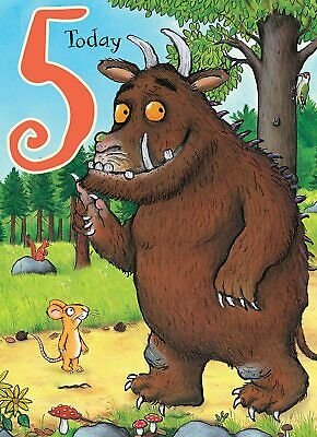 £2.75 • Buy The Gruffalo 5 Today  Birthday Greeting Card With Envelope Child