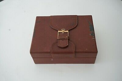 $ CDN183.13 • Buy Rolex President Day Date Wooden & Leather Box