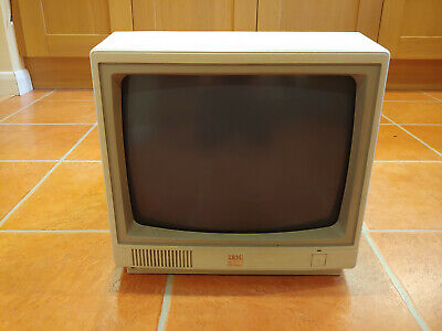 £20 • Buy Rare Ibm 4863002 American Pc Jr? Base Color Crt Monitor Analogue Output Untested