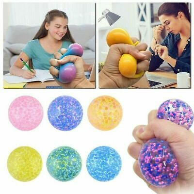 £4.85 • Buy Squishy Squeeze Sensory Stress Reliever Ball Fidget Toy Autism Anxiety Relief