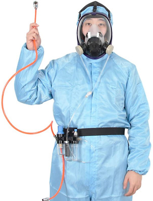 £72.96 • Buy 3 In 1 Function Supplied Air Fed Full Face Respirator System, Don't Need