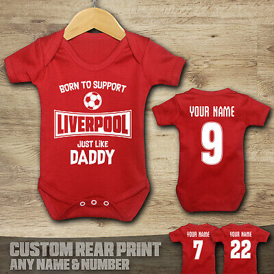£7.99 • Buy Liverpool - Born To Support - Baby Vest Suit Grow