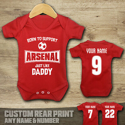 £6.99 • Buy Arsenal - Born To Support - Baby Vest Suit Grow
