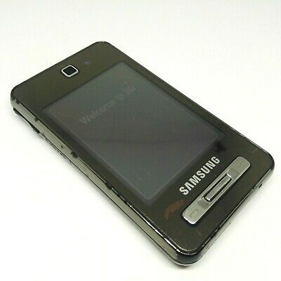 £12.31 • Buy Samsung SGH F480i - Black (Unlocked) Touch Screen 3G Mobile Phone