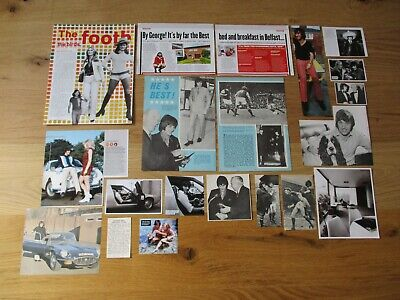 £2.99 • Buy GEORGE BEST - Manchester United: Bundle Of Football Magazine Pictures/Cuttings 2