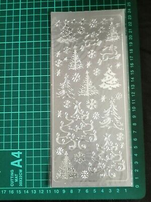 £1.25 • Buy Anita's Outline Peel Off Sticker- Trees (Silver) FREE P&P On Additional Packs