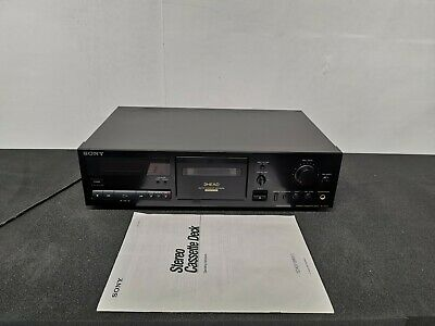 £229.99 • Buy SONY TC-K511S 3 HEAD Stereo Cassette Tape Deck With Dolby S - Serviced & Working
