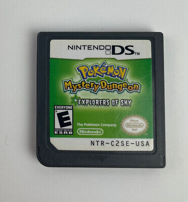 $89.95 • Buy Pokemon Mystery Dungeon: Explorers Of Sky (DS, 2009) Cart Only Tested!!!