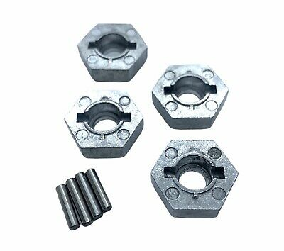 £7.95 • Buy HPI Savage X XL Flux Nitro 17mm Wheel Hex Hubs With Pins Set Of 4 #86804