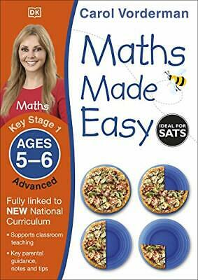 £4.65 • Buy Maths Made Easy Ages 5-6 Key Stage 1 Advanced (Made  By Carol Vorderman New Book