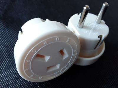 AU29.95 • Buy 2 X Travel Adaptor From Australia & New Zealand Travel To Europe Adapters