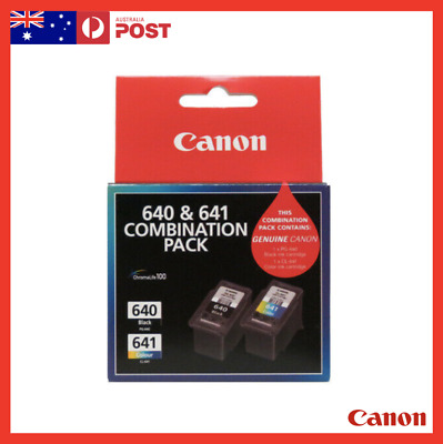 AU48.99 • Buy Canon PG-640/CL-641 Ink Cartridge - Combination Pack - Free Shipping