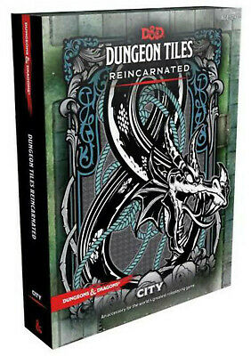 AU34.95 • Buy D&D Dungeons & Dragons Dungeon Tiles Reincarnated City