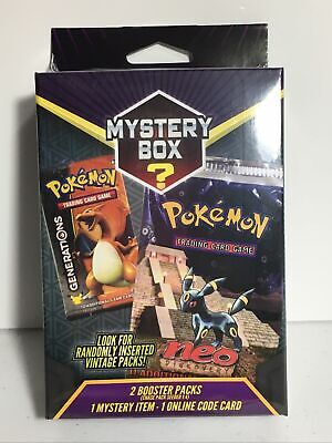 $49.95 • Buy 2021 Pokemon Mystery Power Box Vintage Chase Pack Seeded 1:4 Factory Sealed