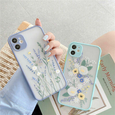 £3.95 • Buy For IPhone 11 12 Pro Max SE XS XR 8 7 Cute Flower Shockproof TPU Soft Case Cover