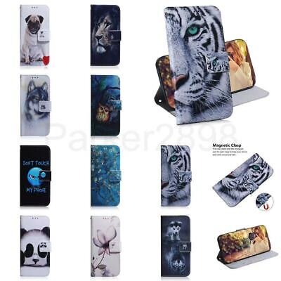 £5.39 • Buy Case For IPhone 13 12 11 Pro XR XS MAX 8 7 SE2 Plus Leather Wallet Pattern Cover