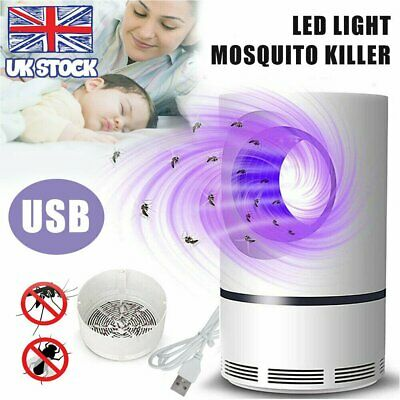 £9.99 • Buy Electric Insect Mosquito Fly Killer Bug Zapper UV Home Indoor Pest Catcher Trap