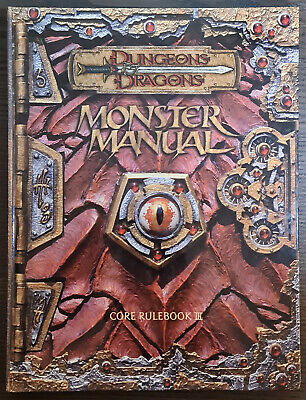 AU60 • Buy D&D Dungeons And Dragons 3.5 Monster Manual Core Rulebook Great Condition