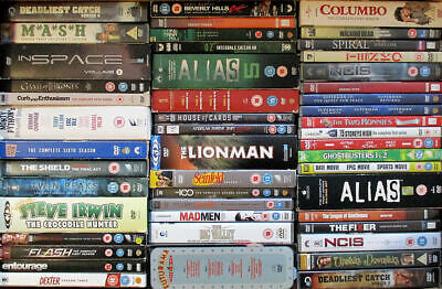 £2.50 • Buy DVD Box Sets From £1.50 Each - UK/US TV Series - Comedy/drama/horror/sci-fi