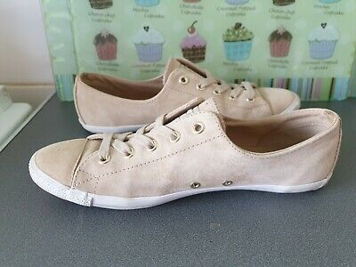 £28 • Buy LADIES CARAMEL BROWN SUEDE DAINTY CONVERSE ALL STAR Size 6 UK