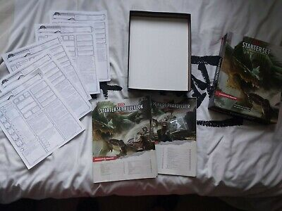 £10 • Buy Dungeons & Dragons Starter Set D&D Boxed Game Complete