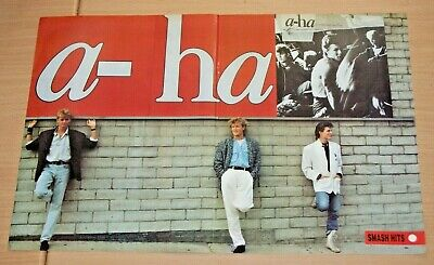 £2.99 • Buy A-HA Norway Band Large A3 Size Original Magazine Glossy VINTAGE ART Poster