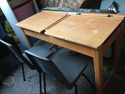 £30 • Buy Small School Desk With Two Chairs