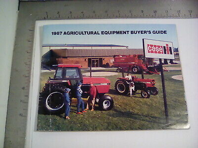 £9.09 • Buy 1987 Case Ih Agricultural Equipment Buyers Guide 85,91,94,96 & 200 Series 83 Pgs