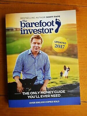 AU15.95 • Buy The Barefoot Investor By Scott Pape 2017 Money Guide - Free Postage