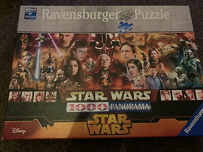 £15 • Buy Ravensburger Star Wars 1000 Piece Panorama Jigsaw Puzzle COMPLETE