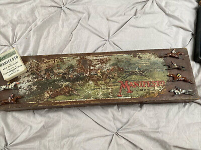 £25 • Buy Antique Manifesto Horse Racing Game By Jaques London