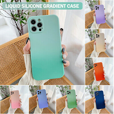 AU9.99 • Buy For IPhone 12 11 Pro/Max XR XS SE/8/7 Case Liquid Silicone Shockproof Slim Cover
