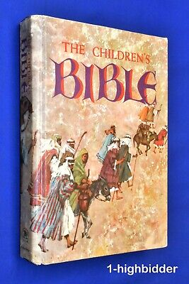 £18.11 • Buy Vtg 1965 Golden Press The Childrens Bible NO WRITING Fully Illustrated Hardcover