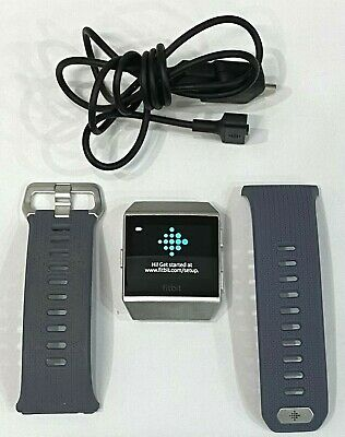 AU125 • Buy FITBIT Ionic FT503 Health & Fitness Smartwatch W GPS Heart Rate Activity Tracker
