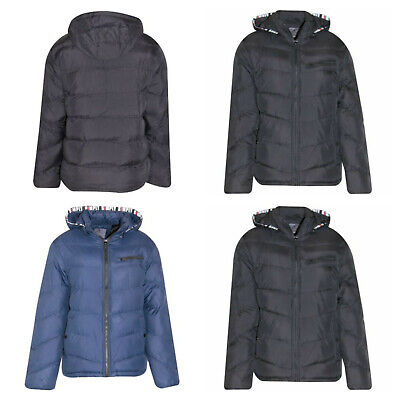 £19.99 • Buy Mens Fur Insulated Thick Padded Lined Jacket Winter Inner Hood Plus Size 3xl-7xl