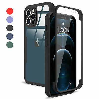 £4.95 • Buy Shockproof 360 Body Full Case For IPhone 13 Pro Max 11 12 Pro XR XS 7 8 Plus SE