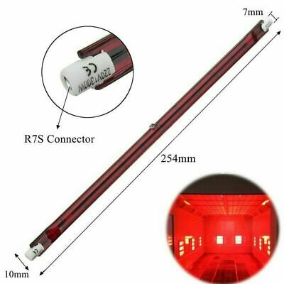 £12.69 • Buy 2pcs 1300W Red 254mm R7 IR Infrared Halogen Outdoor Parasol Heater Bulb Lamp