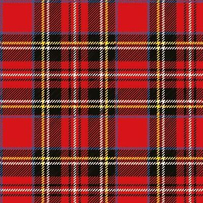 £4.85 • Buy Ambiente Pack Of 20 Paper Napkins / Serviettes - Scottish Red - 3 Ply