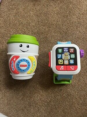 £7 • Buy Fisher-Price Laugh And Learn Smart Watch Toy