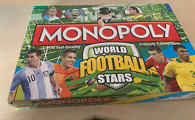 £7.50 • Buy Monopoly World Football Stars Used Good Condition