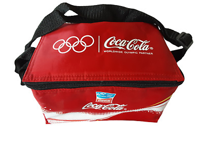 £9.99 • Buy Small Coca Cola Cooler Bag-made For 2004 Athens Olympics-new Unused--lunch Box