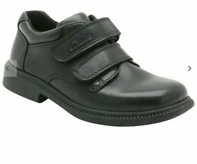 £19.95 • Buy New Clarks Deaton Infant Black Leather Shoe - 8H UK/EU25.5 - Free UK Delivery