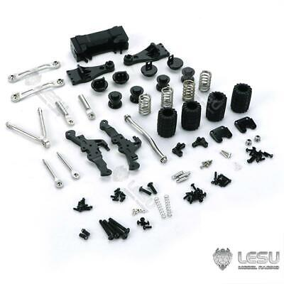 AU204.46 • Buy Metal Air Bag Suspension Of Rear Through Axles For 1/14 Scale RC Tractor Truck