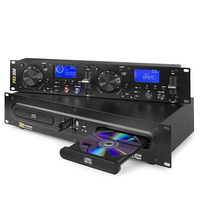 £289 • Buy Power Dynamics 172.715 PDX350 Double CD/MP3/USB Player