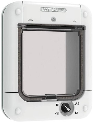 £60.49 • Buy Genuine Microchip Pets Door Large Cat Flap Small Dog Big Cat White New UK Fast..