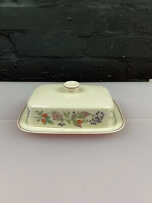 £13.99 • Buy Wedgwood Roseberry Covered Butter / Cheese Dish