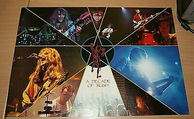 £2.99 • Buy RUSH Early1980s Original Band Large A3 Magazine Glossy RARE Vintage Art Poster