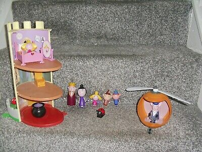 £30 • Buy Ben And Holly Turret Play Set Magic School Helicopter Figures Nanny Plum Elf +
