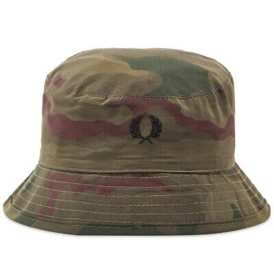 £39 • Buy Fred Perry X Arktis Camo Bucket Hat One Size Rare Deadstock Mod Indie