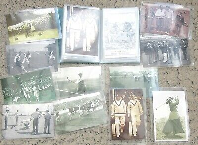 £2.99 • Buy 10p Each!  Collection Of THIRTY Sporting Nostalgia Postcards 1896-1956